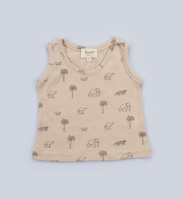 Marcellou Baby Boy Jersey Mini Wild Animal