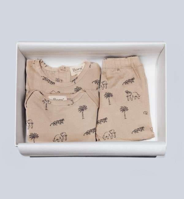 animal print gift box