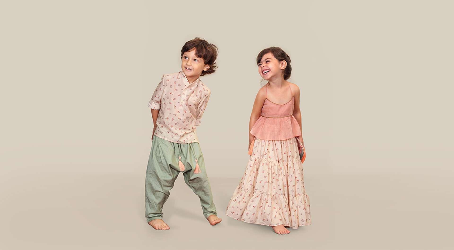 Festive collection - Kurta & Lehenga Set for Boys and Girls